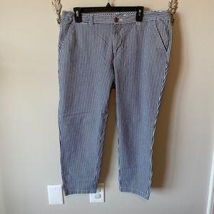 Maison Jules striped Capri pants 14
